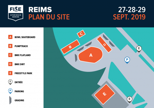Plan du FISE Reims