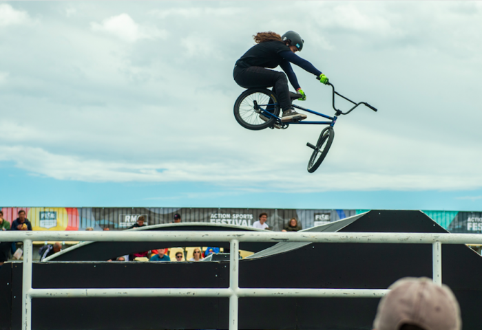 Qualification des Women en BMX Freestyle Park