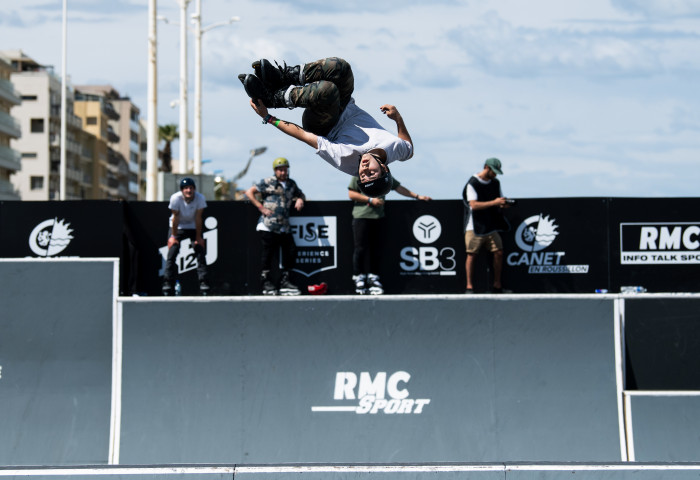 Un line up international pour la finale de Roller Freestyle Park