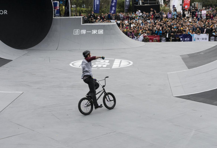 bmx freestyle park health